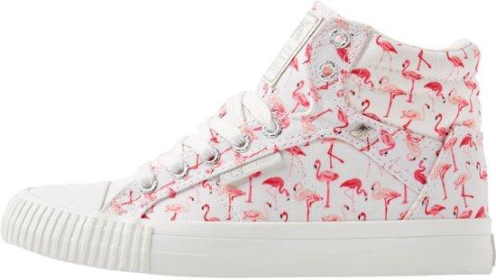 36 Sneakers Roze Maat Hoog Flamingo Knights Dames Dee British fw1qzH8z