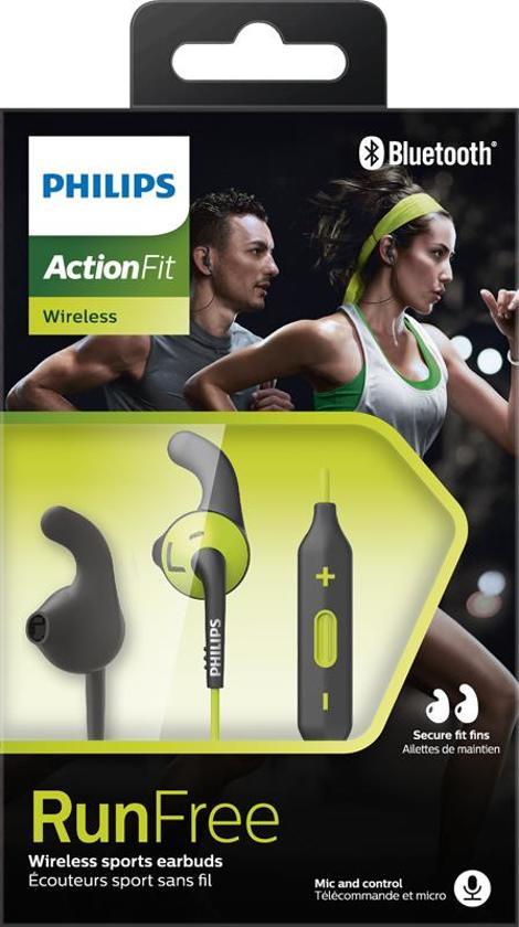 Philips SHQ6500 ActionFit Bluetooth Sport Oordopjes