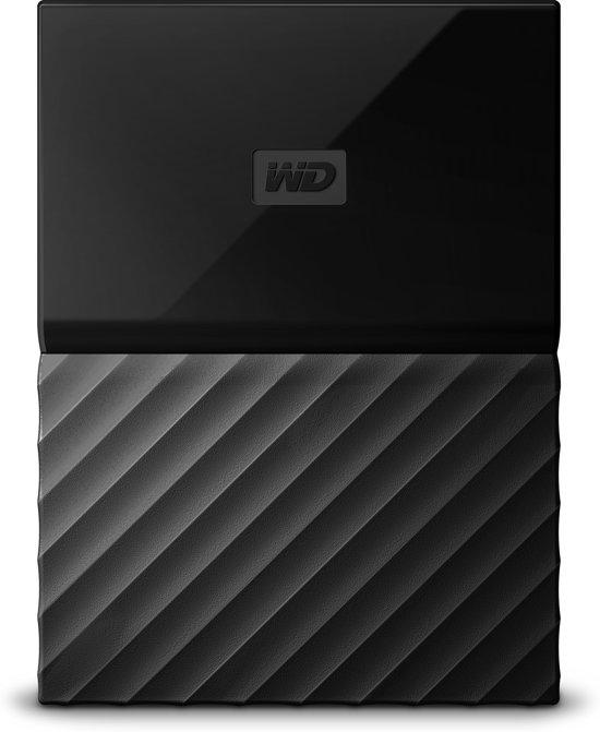 Western Digital My Passport 2.5 Inch externe HDD voor Mac 2TB Zwart