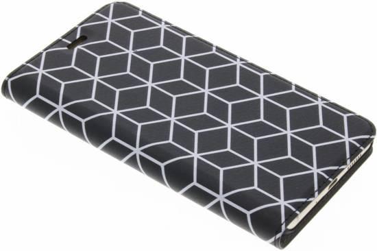 Cubes Noir Conception Tpu Cas Pour Huawei P10 Lite fidB2mS