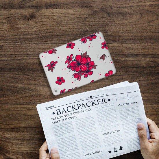 iPad Mini 4 Tablethoesje Design Blossom Red