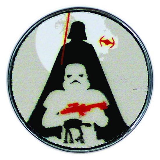 Star Wars™ Clicks - Darth Vader & Stormtrooper Silhouette