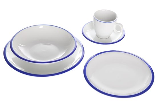 Cosy&Trendy Pleasure Blue dinnerset - 20-delig