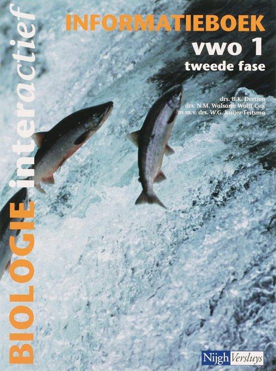 Biologie interactief 1 Vwo Informatieboek - B. Dertien pdf epub