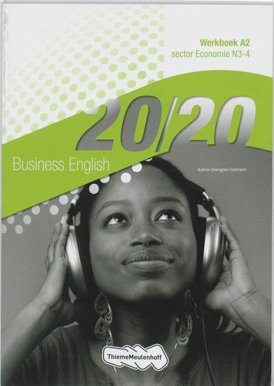 20 20 Economie sector N3 4 deel Werkboek A2