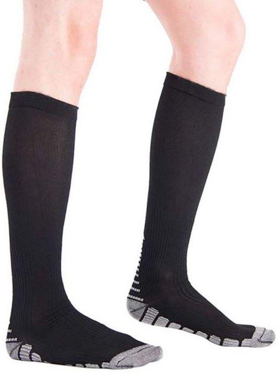 Hardloop sokken/Compressiekousen Zwart One Size