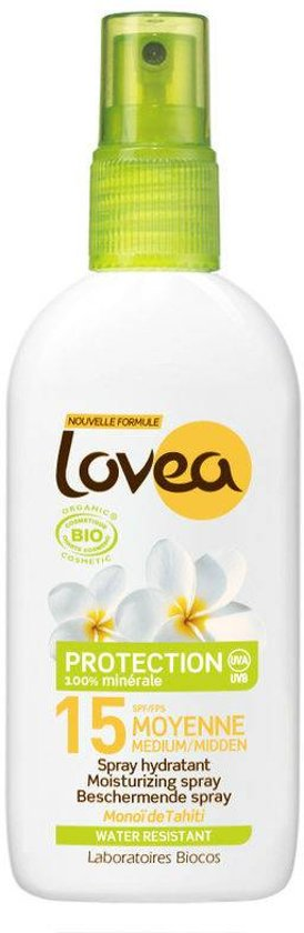 Lovea Bio Sunspray SPF15 - Zonnebrand spray
