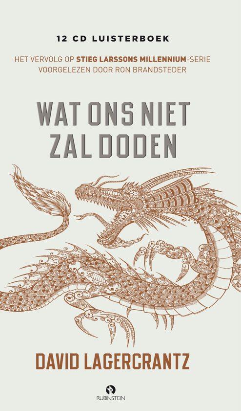 Boek cover Wat ons niet zal doden (luisterboek) van David Lagercrantz (Onbekend)