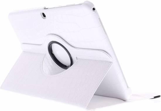 Manchon Blanc De Tablette Crocodile Rotatif À 360 ° Pour L'onglet 2 10,1 Casemate