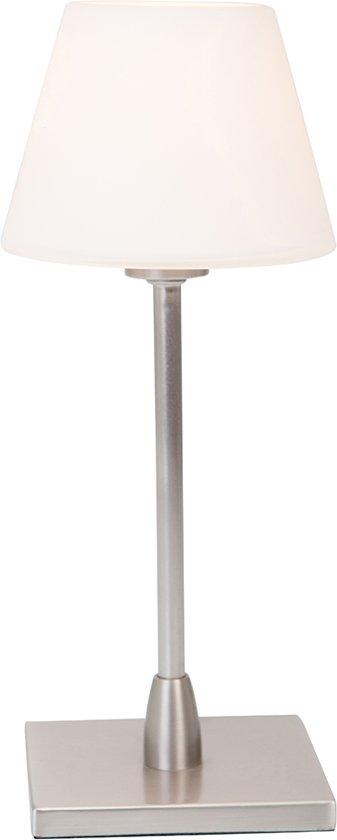 Steinhauer Ancilla - Tafellamp - 1 lichts - Halogeen - Staal - Touch