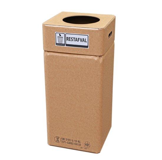 Afvalbak karton, Afvalbox restafval