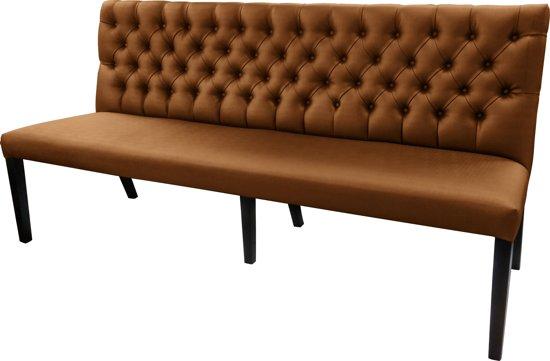 Eetkamerbank Met Wieltjes.Gecaptionneerde Design Eetkamerbank 200 Cm Breed In Verschillende Kleuren Kleur Bronze