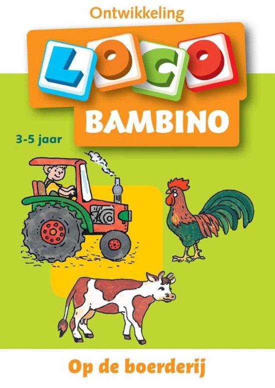 Boek cover Loco Bambino / Op de boerderij van Onbekend (Paperback)