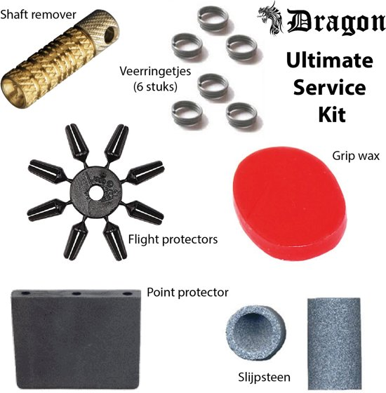 Dragon darts - Ultimate Darts Service Kit - Darts accessoires - tune up kit