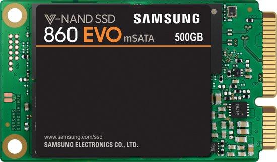 Samsung 860 EVO Msata Interne SSD - 500GB