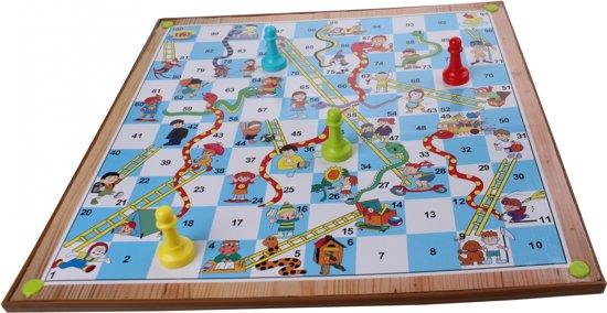 Lifetime Games 2-in-1 Bordspel Mens Erger Je Niet - Ladderspel