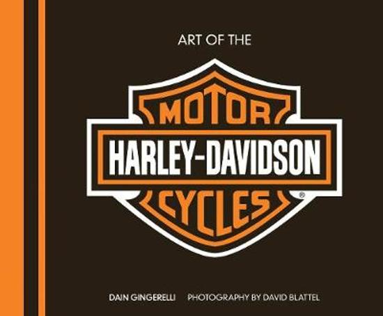 Boek cover Art of the Harley-Davidson(R) Motorcycle - Deluxe Edition van Dain Gingerelli (Hardcover)