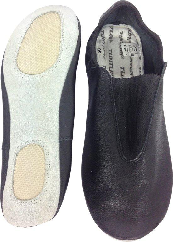 Tunturi Gymschoenen - Turnschoentjes  -Turnschoenen - Balletschoenen - Zwart - Maat 39