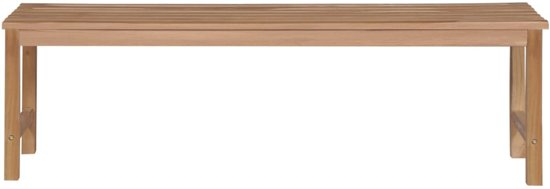 vidaXL Tuinbank 150 cm massief teakhout