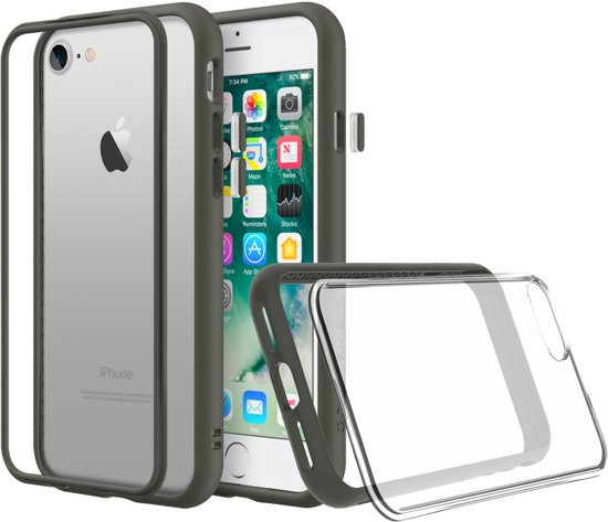 Rhinoshield MOD NX Crash Guard Bumper Graphite Apple iPhone 7 / 8