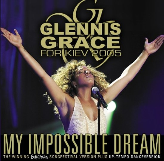 CD cover van My Impossible Dream van Glennis Grace