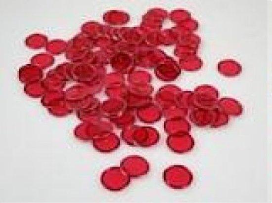 100 bingofiches met magneetrand ASSORTI