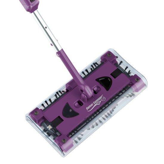 Swivel Sweeper G2 oplaadbare kruimelveger Paars
