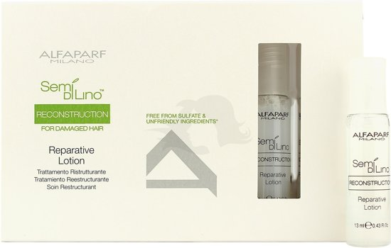 Alfaparf Semi di Lino Reconstruction Reparative Lotion 6x 13ml