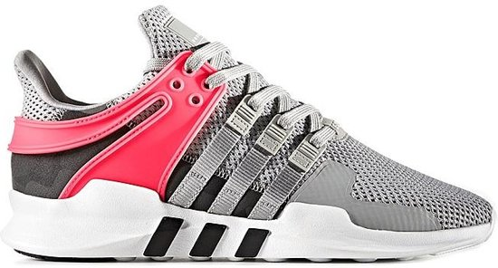 adidas schoenen dames grijs roze