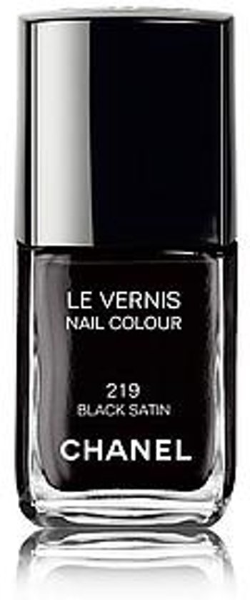 Chanel Le Vernis - 219 Black Satin - Nagellak