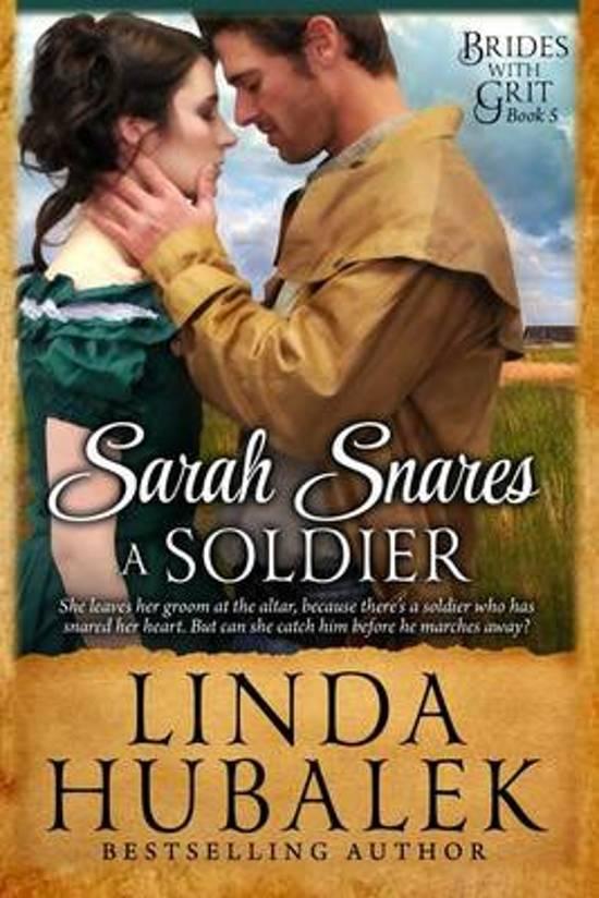 Boek cover Sarah Snares a Soldier van Linda K. Hubalek (Paperback)