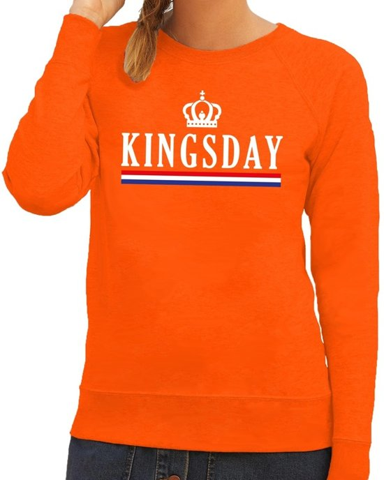 Trui Sweater.Bol Com Oranje Kingsday Met Hollandse Vlag Trui Sweater Voor