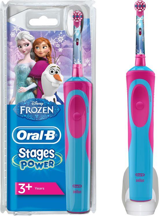 Oral-B Stages Power Kids met Frozen-figuren Elektrische Tandenborstel