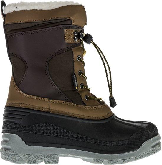 Bruin Klein geelvalt SnowbootsMaat 36 grijs Wintergrip Unisex PkXiOuZT