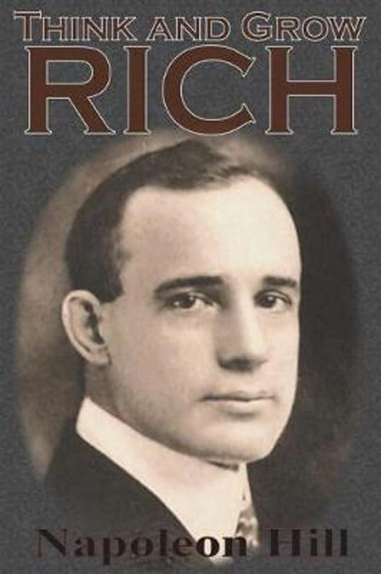 Boek cover Think and Grow Rich van Napoleon Hill (Paperback)