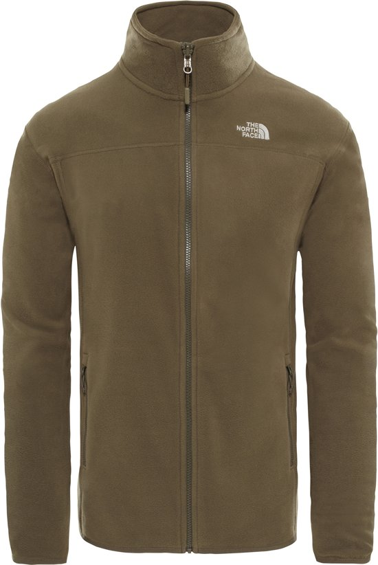 Face New 100 Taupe Green North The Heren Vest Zip Full Glacier P5Tqw6xqU