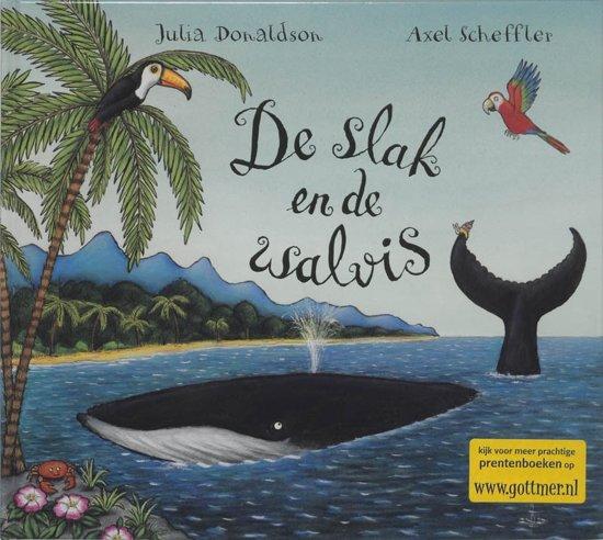 Boek cover Slak en de walvis van Julia Donaldson (Hardcover)