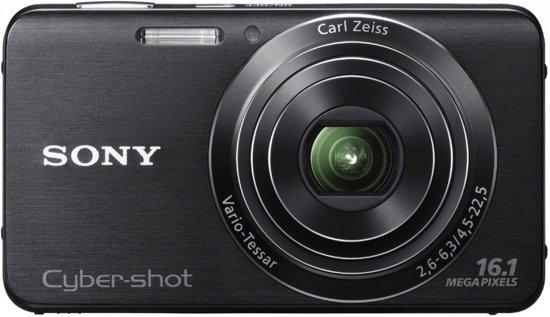 Sony Cybershot DSC-W630 - Zwart