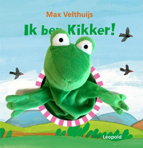 Boek cover Kikker - Ik ben Kikker!  (+ handpop) van Max Velthuijs (Onbekend)