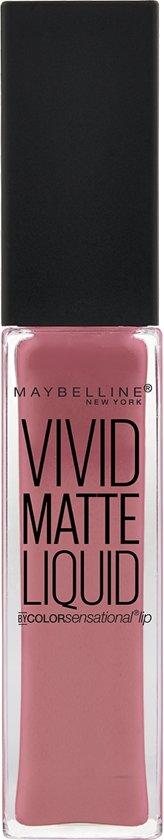 Maybelline Vivid Matte Liquid - 05 Nude Flush - Nude Roze -  Lippenstift