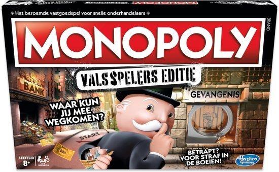Monopoly Valsspelers Editie - Bordspel