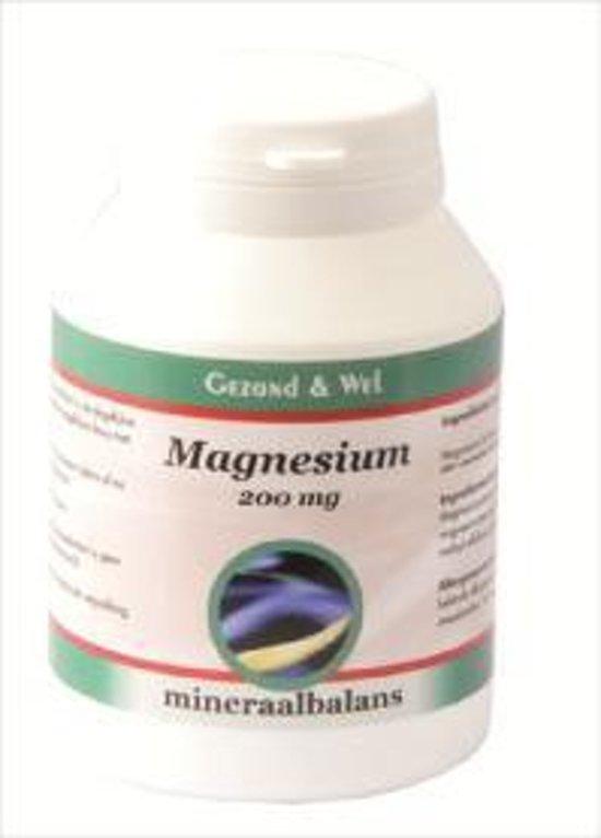 G&W Magnesium Citraat 200mg 240T
