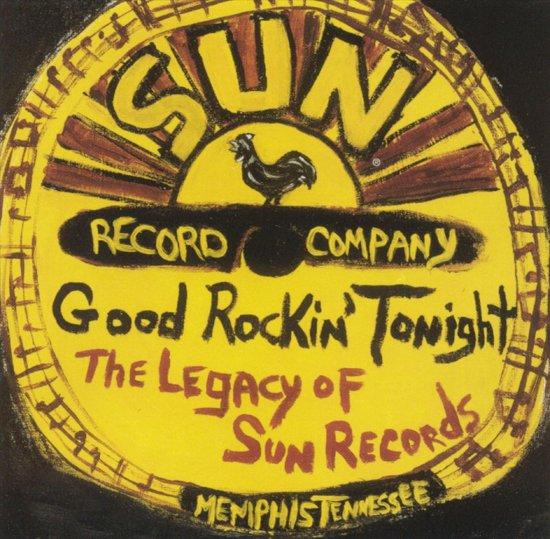 CD cover van Good Rockin Tonight: The Legacy of Sun Records van various artists
