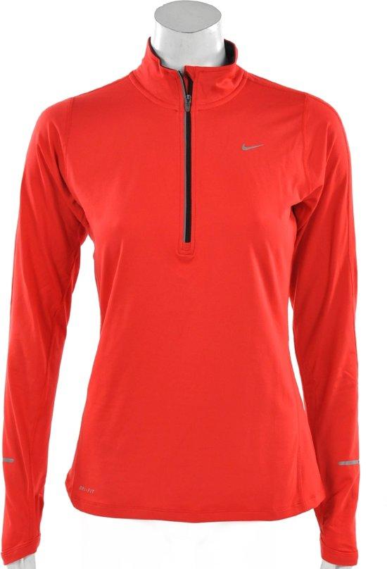 041486b5437 bol.com | Nike Element Half Zip - Hardloopshirt - Vrouwen - Maat L ...