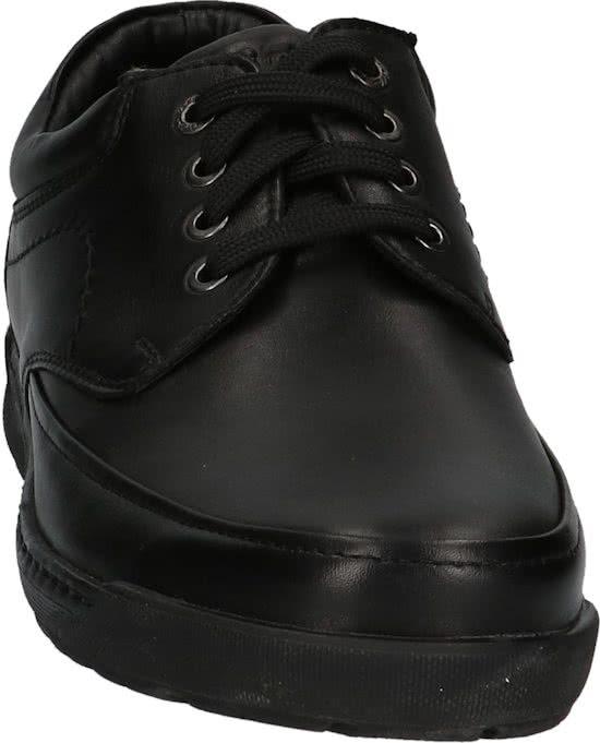 zwarte heren schoen leer veter