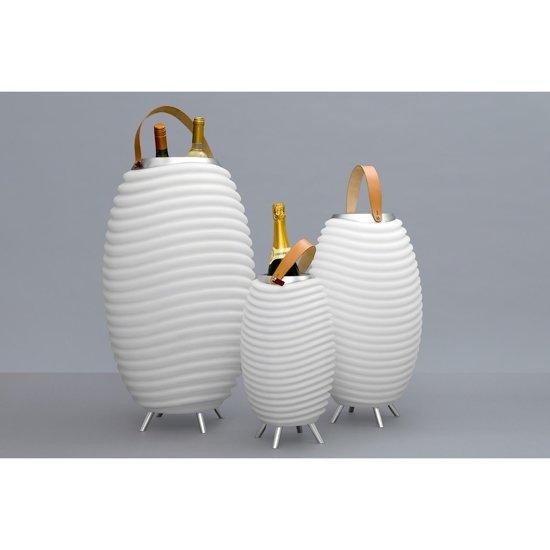 Kooduu Bluetooth Speaker Lamp 1,3L Wijnkoeler - Ø 24cmx41,2cm