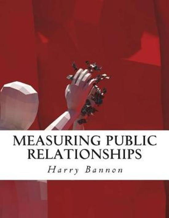 Measuring Public Relationships