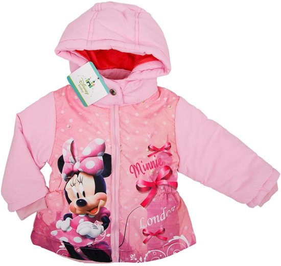 Disney baby meisjes jas Minnie Mouse maat 80
