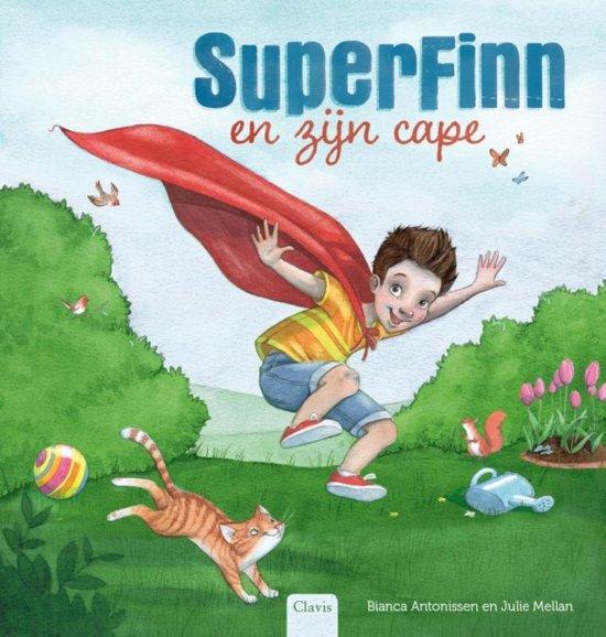 Afbeelding van SuperFinn en zijn cape