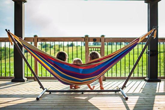Vivere Combo Tweepersoons Hangmat met Standaard